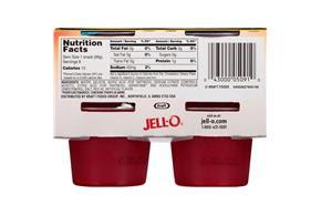 Jello Sugar Free Jello Cup Nutrition Nutritionwalls