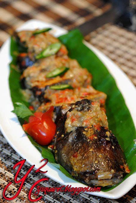 ikan patin bakar tempoyak  paya serai malaysia food