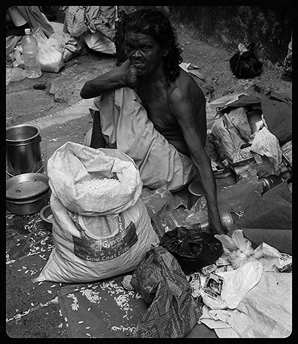 The Beggars of Banganga  Pitru Paksh by firoze shakir photographerno1