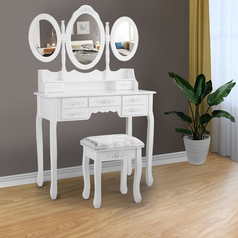 Best Of Bedroom Dressing Table With Makeup Storage images