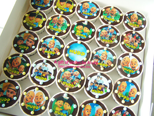 Birthday Cupcake Edible Image Upin & Ipin