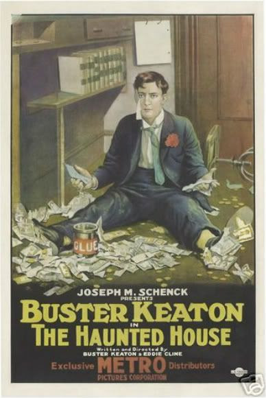Buster Keaton Haunted House movie poster