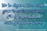 No le digas a Dios