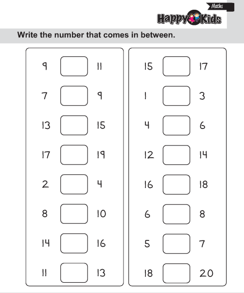 Math Worksheets Lkg