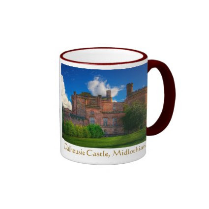 Dalhousie Castle, Midlothian, Scotland Coffee Mugs