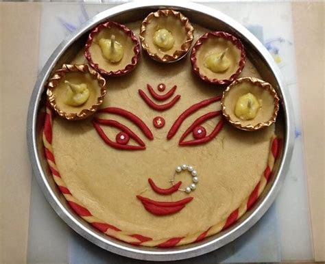 Navratri Aarti Thali Decoration Ideas   Aarti Thali