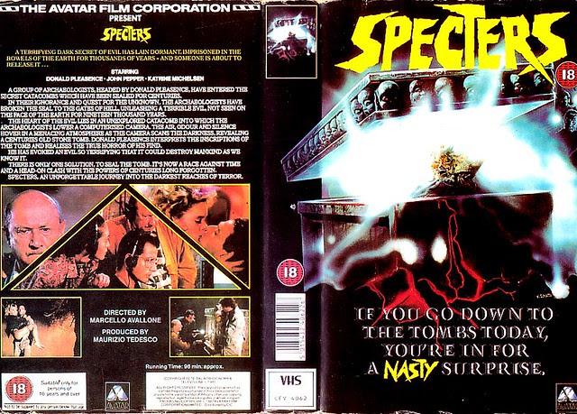 SPECTERS (VHS Box Art)