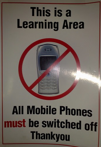 No mobile phones by touring_fishman, on Flickr