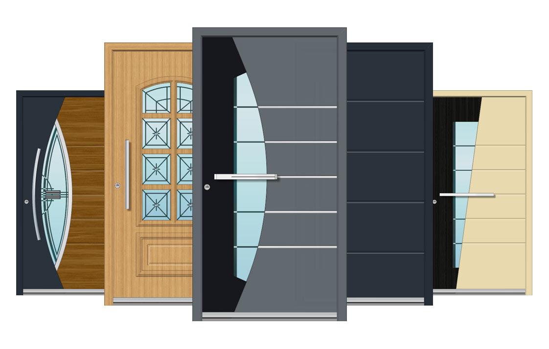 design of aluminum door  | 640 x 476
