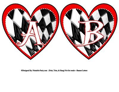 Printable Alphabet Letters A-Z | Printable Banner Letters ...