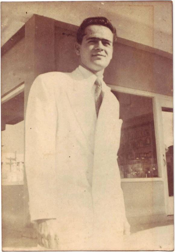 Raúl Gómez García. Foto del Archivo Familiar del Autor/Cubadebate