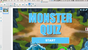 Monster Quiz is part of SMART lab a gbl game based learning tool I use in my classroom