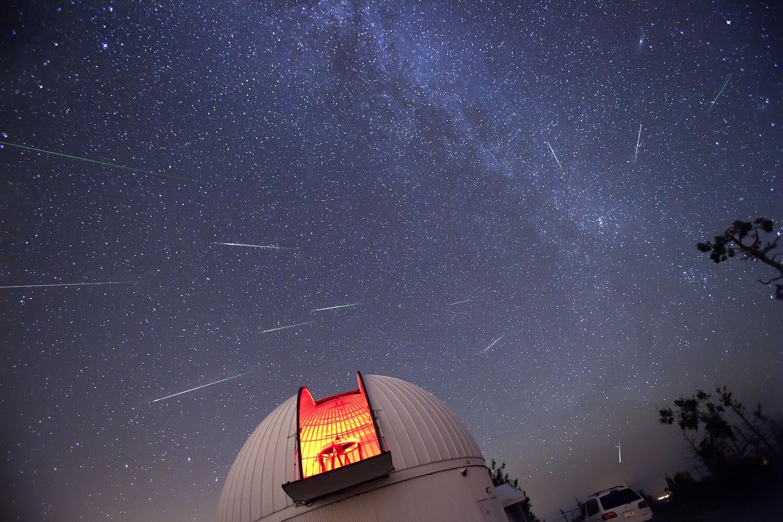 sciame meteoritico del 2010