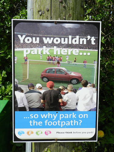 Brilliant poster in Ballygarrett, Co. Wexford