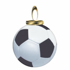 Soccer Ball Ornament photosculpture