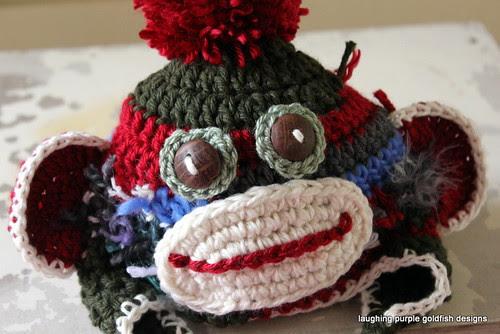 Alterations to Crochet Sock Monkey Hat