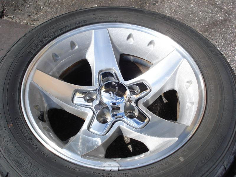 Sell 16x8 Zq8 Rim Wheel Tire Set Chevy S10 Xtreme Truck Blazer Sonoma Monte Carlo Motorcycle In