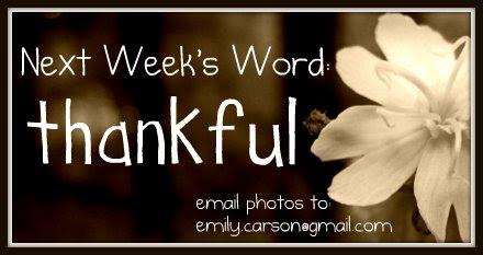 Next week, Thankful