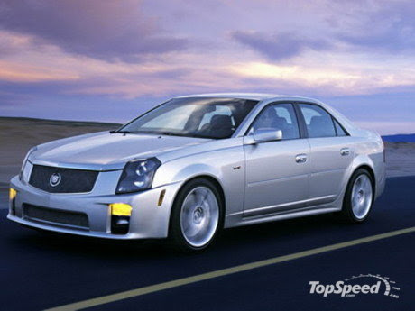 Cadillac CTS-V. The Sport Performance Package ($2285), which has been