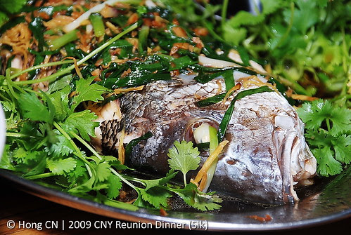 蒸鱼  - Steamed fish