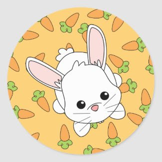 Cute Lil' Bunny sticker