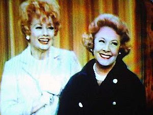 Lucille Ball and Vivian Vance in a 1967 episod...