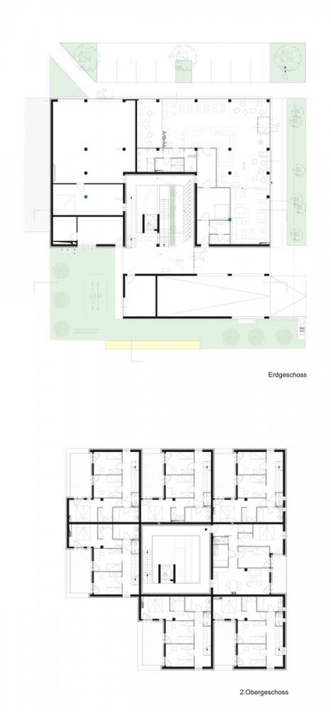 """Conjunto de vivienda """"Mi casa es mi Patio"""" - x architekten, Arquitectura, diseño, casas"""