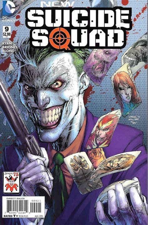 NEW SUICIDE SQUAD #9 JOKER VARIANT COVER BY JIM LEE NM