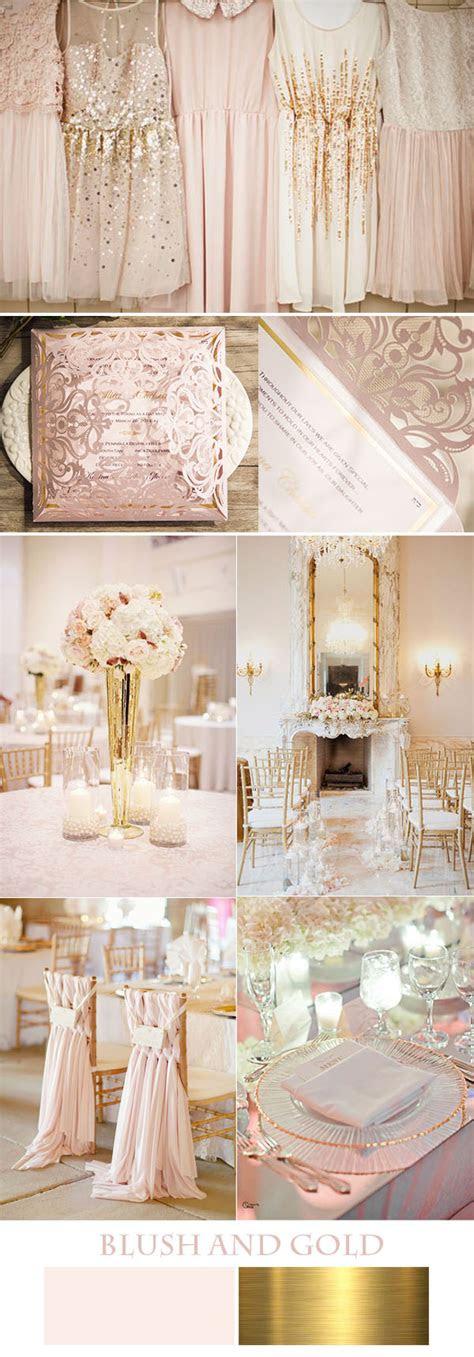 beautiful foil invitations  inspired wedding color ideas