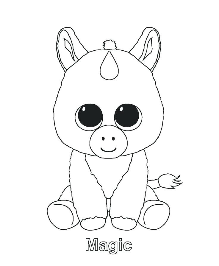 Cute Baby Unicorn Drawing at GetDrawings | Free download