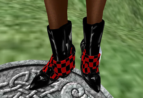 Dead or Red Amilli Daviau Design boots