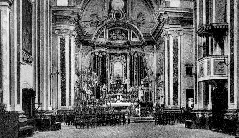 Ruvo di Puglia (Ba), interno della chiesa di san Domenico.