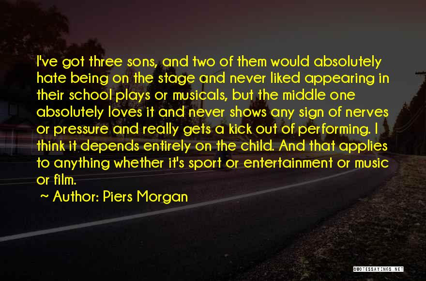 Top 12 Quotes Sayings About Performing Music On Stage
