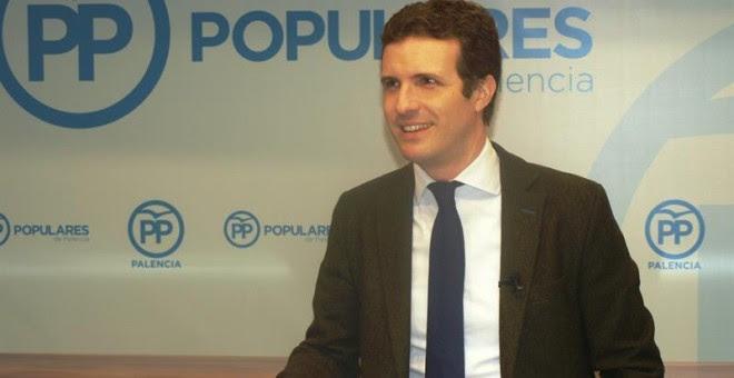 El vicesecretario general de Comunicación del PP, Pablo Casado. - EFE