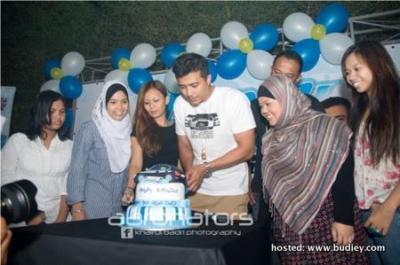 Aaron Aziz Birthday