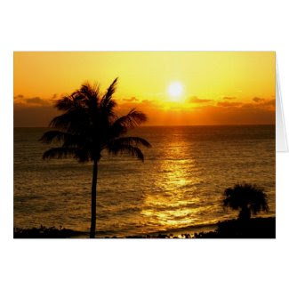 Sunrise in Paradise Card