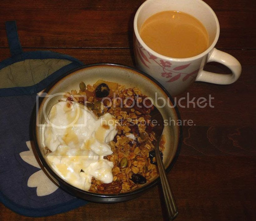 breakfast apple crisp