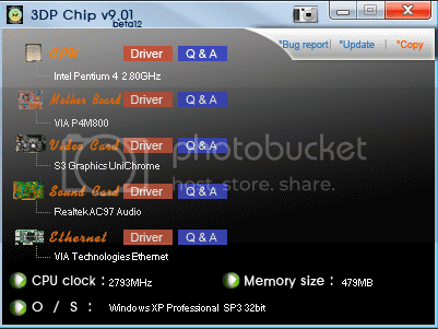 Driver Updater Free 3dp chip