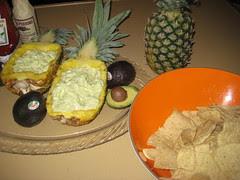 final pineapple guacamole