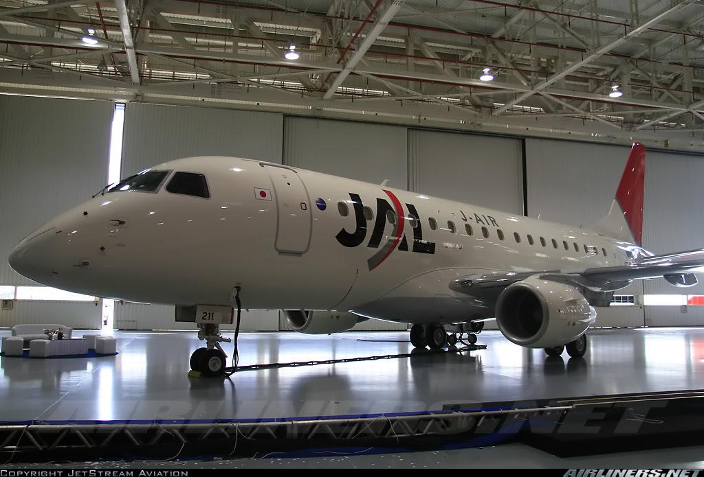 Japan Airlines planeja comprar 18 aviões; 4 deles da Embraer