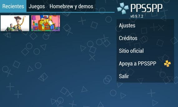 convierte tu terminal android en una psp Convierte tu terminal Android en una PSP