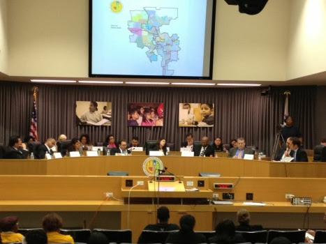 LAUSD redistricting commission
