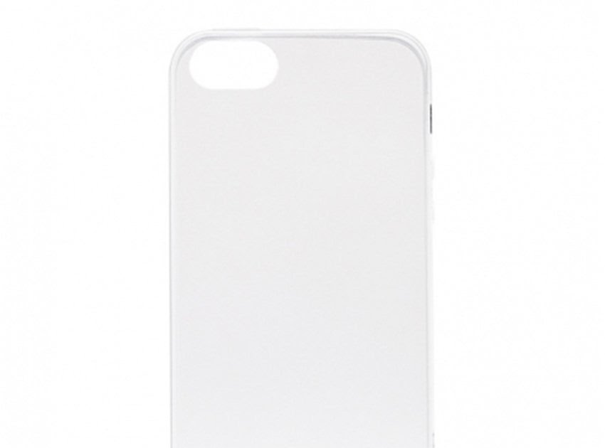 HEMAT Priskila Ultrathin Softcase Untuk Iphone 5 Case Lentur Transparan Silicon Casing Cover - Putih Clear