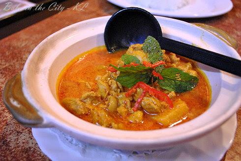 Rosette Cafe - Chicken Curry Kapitan (RM12)