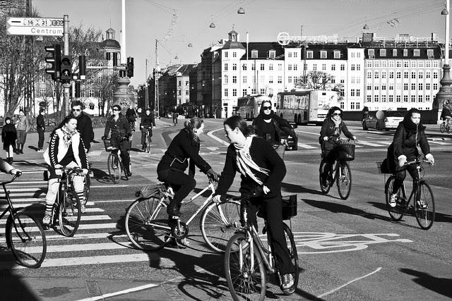 Más ciclistas circulando implica más seguridad