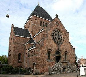 Brorsons Kirke in Copenhagen, Denmark.
