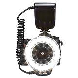 Neewer® RF-600D 18pcs マクロ LED リング フラッシュ Nikon Canon Panasonic, Olympus, Sony に対応