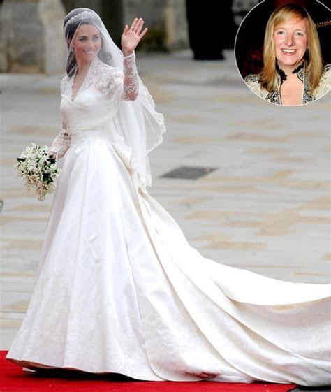 Kate Middleton's Wedding Dress Designer Sarah Burton