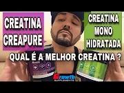 CREATINA CREAPURE OU CREATINA MONOHIDRATADA ? QUAL É A MELHOR CREATINA E A DIFERENÇA CREATINA GROWTH