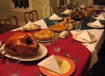 Turkey dinner 2